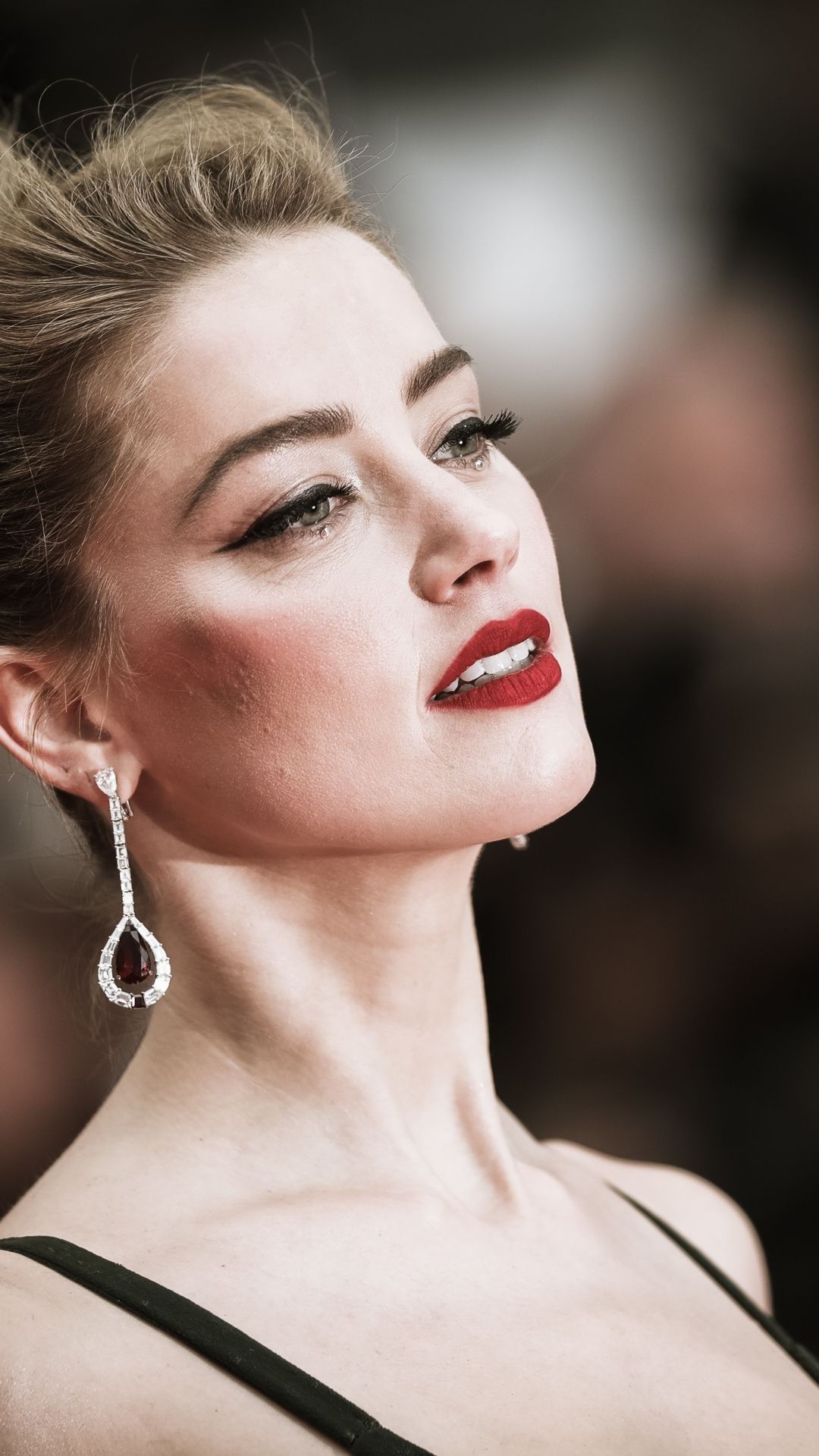 Celebrity Amber Heard Red Lips 2018 1080x1920 Wallpaper Amber Heard Wallpaper Amber Heard Amber