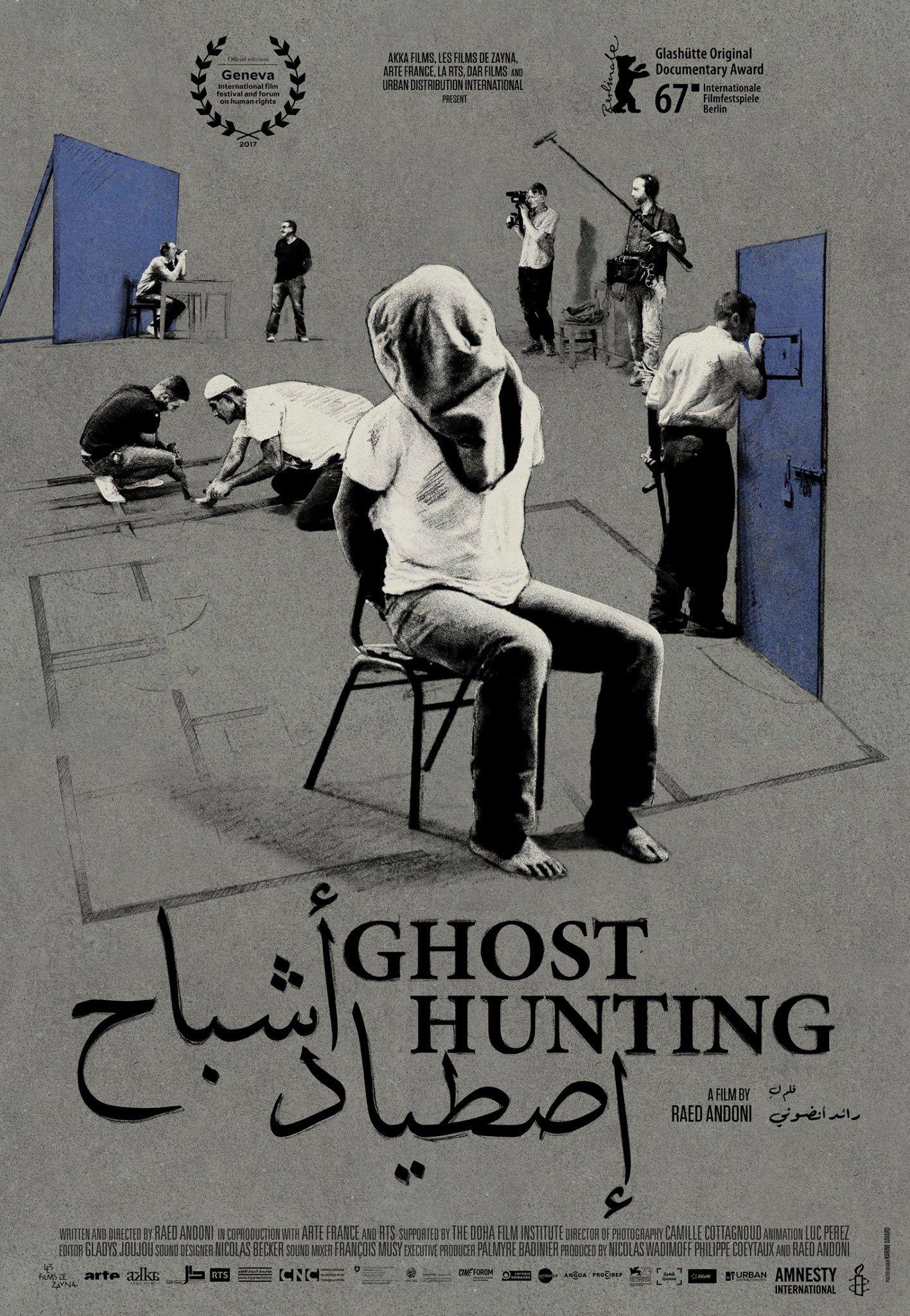 Afbeeldingsresultaat voor GHOST HUNTING film poster