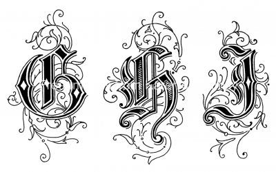 Gothic Letters 3