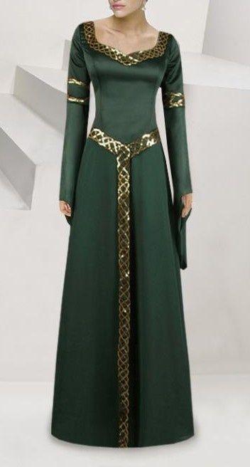 Simple Celtic Dresses