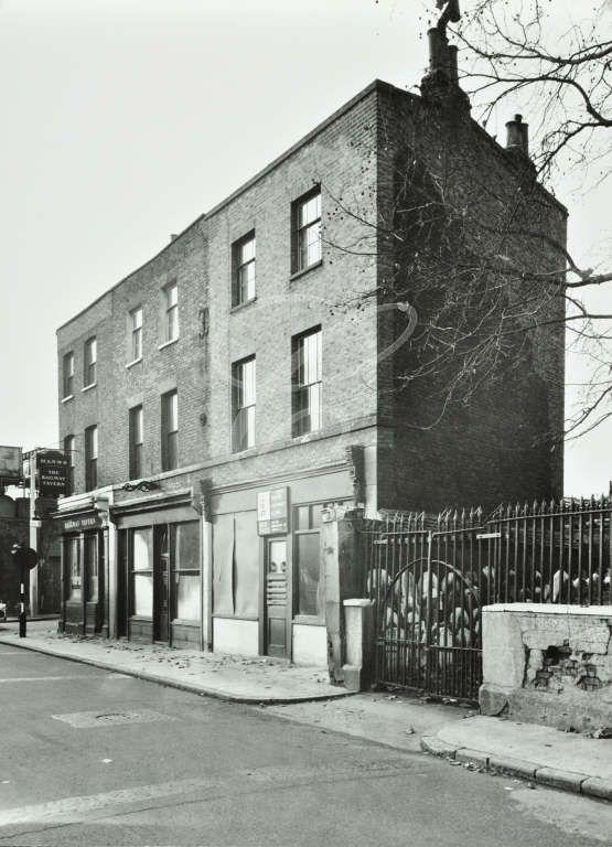Three Colt Street, East End, London