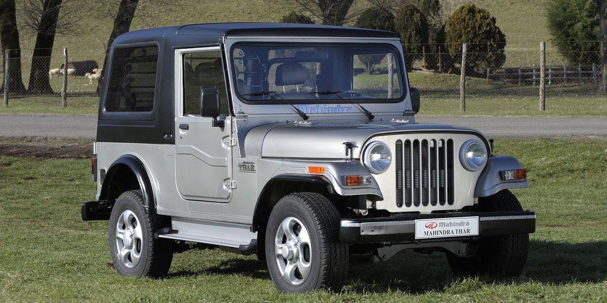 Mahindra Thar Jeep Mahindra Jeep Cool Jeeps