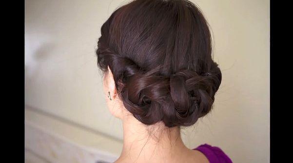 結婚式 ヘアアレンジ ロング 黒髪