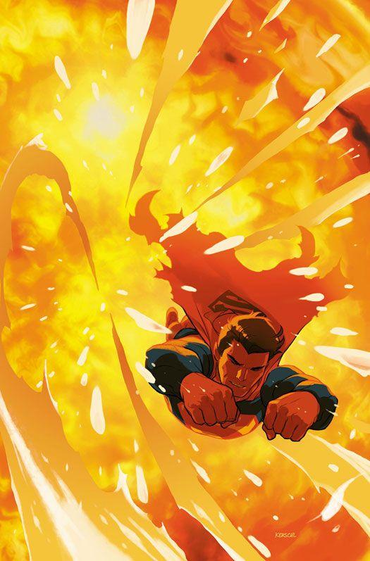 #Superman #Fan #Art. (ACTION COMICS #51 Cover) By: Karl Kerschl. (THE * 5 * STÅR * ÅWARD * OF: * AW YEAH, IT'S MAJOR ÅWESOMENESS!!!™)[THANK U 4 PINNING!!!<·><]<©>ÅÅÅ+(OB4E)