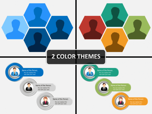 team introduction powerpoint diagram powerpoint diagrams charts