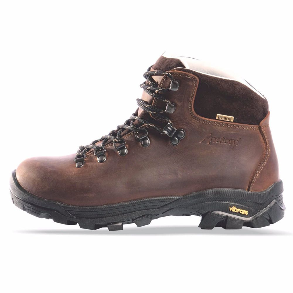 Anatom q2 mens leather walking boots hiking boots
