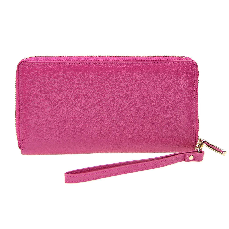 Women RFID Blocking Large Zipper Wallet Wallet, Wallets