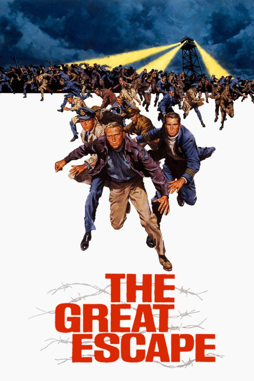 The Great Escape.The Great Escape Movie Poster In 2019 Escape Movie The