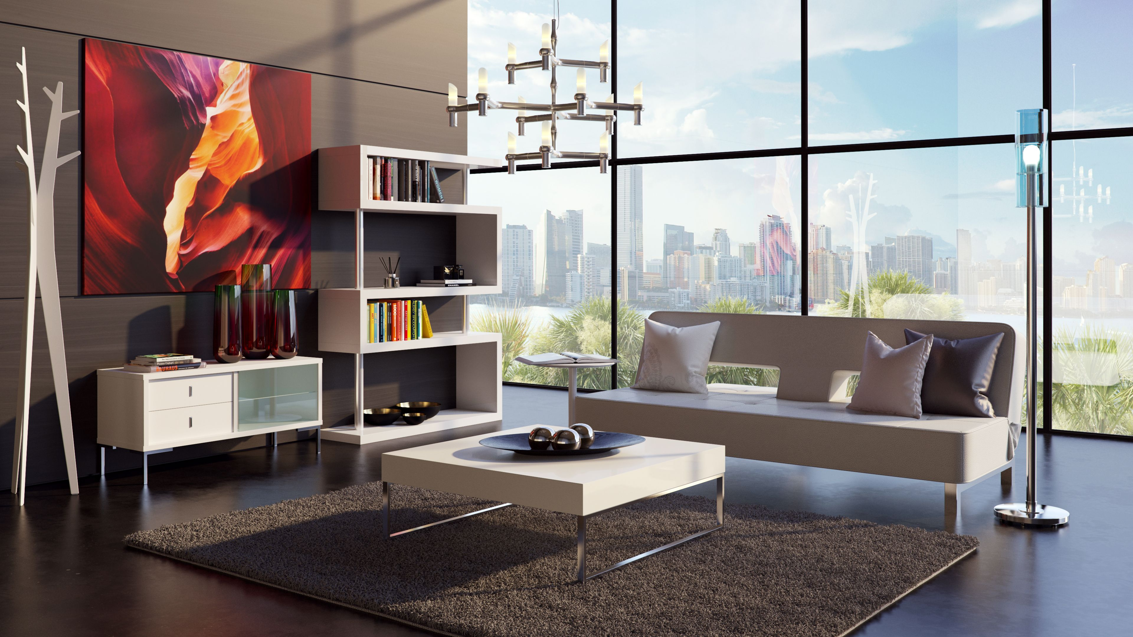 The Metro Collection Living Room by Modani Furniture