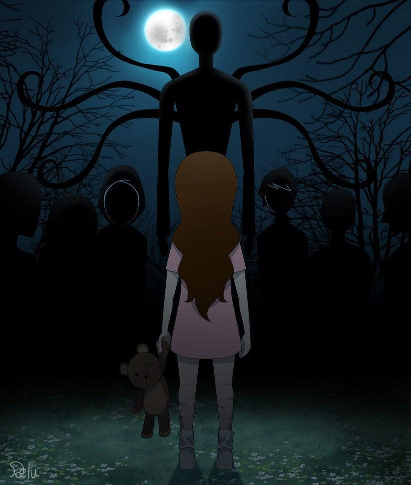 Sally and Slender man<<< AND FRIENDS!!!! | CreepyPasta