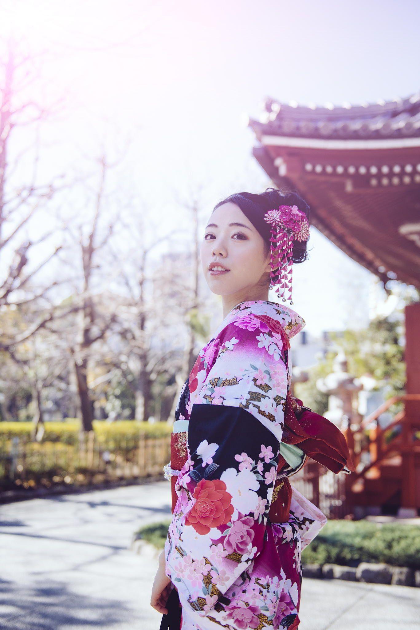 和服.淺草 by Daniel Coloane on 500px   Inspiration. Photo. Japan