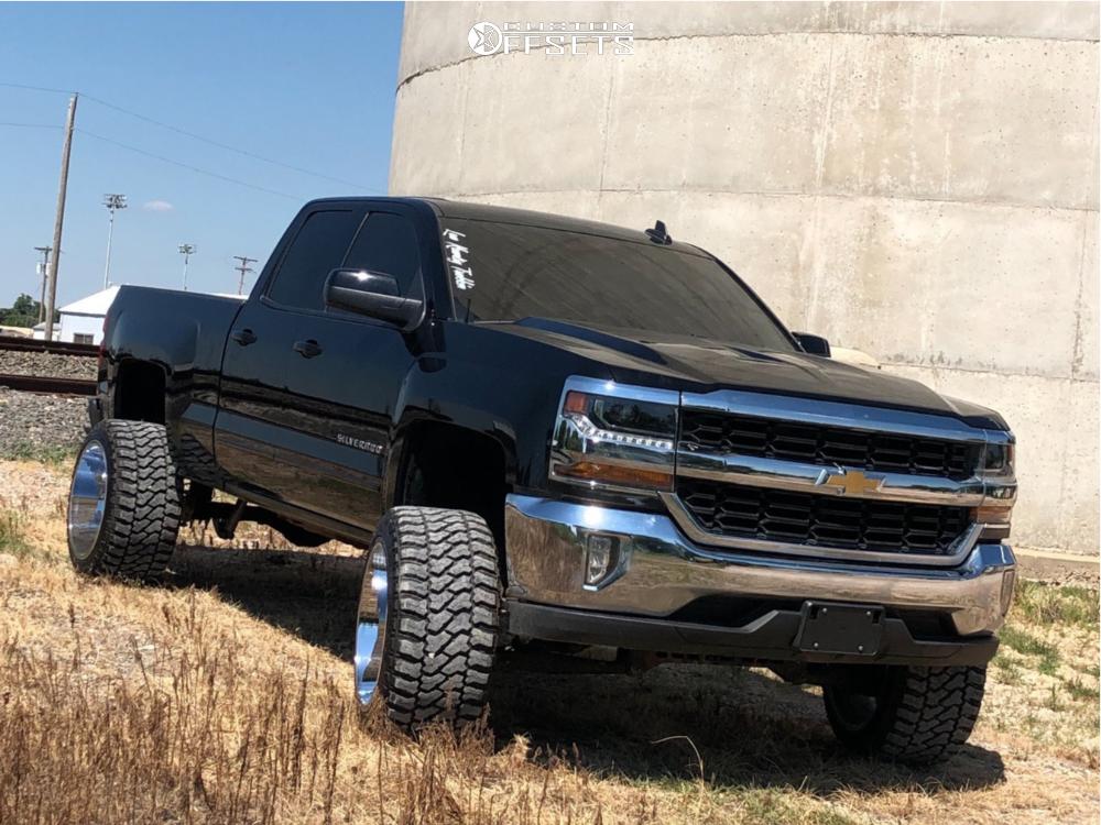 1 2018 Silverado 1500 Chevrolet Rough Country Suspension Lift 7in