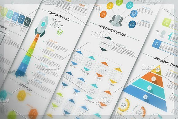 Minimal Infographic Pack   Infographic, Presentation templates and ...