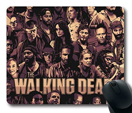 The Walking Dead Cool Poster Mouse Pad Customized Rectangle