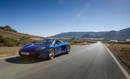 View 2013 McLaren Spider Photos From Car And Driver. Find High Resolution  Car Images In Our Photo Gallery Archive.
