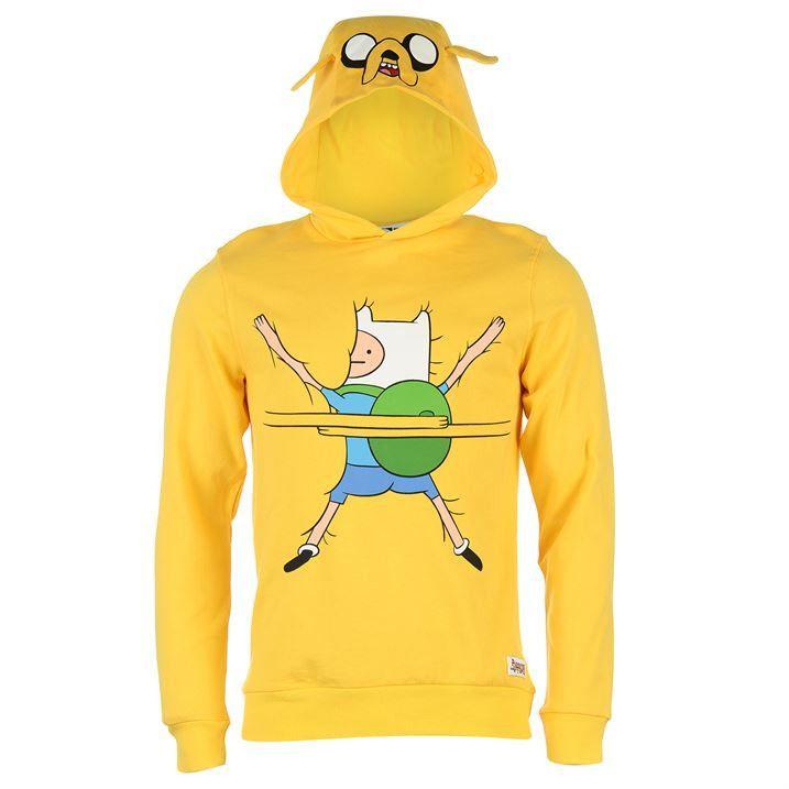 ADVENTURE TIME FELPA Finn inspired cosplay hoodie blue