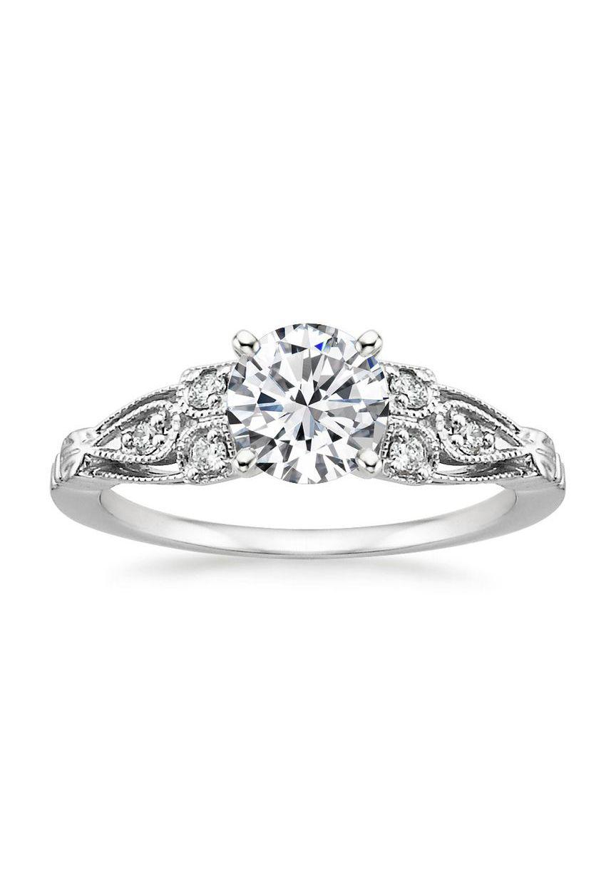 Platinum Rosabel Diamond Ring