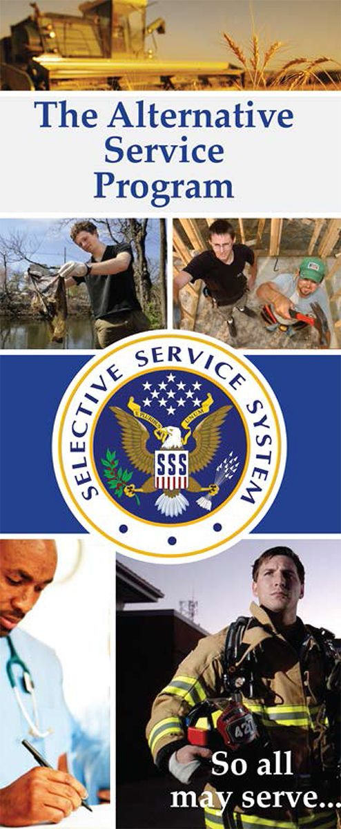 Selective Service System > About > Alternative Service