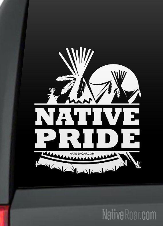 Native American Indian Warrior Bow Hunter Truck Window Vinyl Decal Sticker