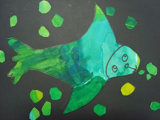Eric Carle Inspired Animals  Once upon an Art Room