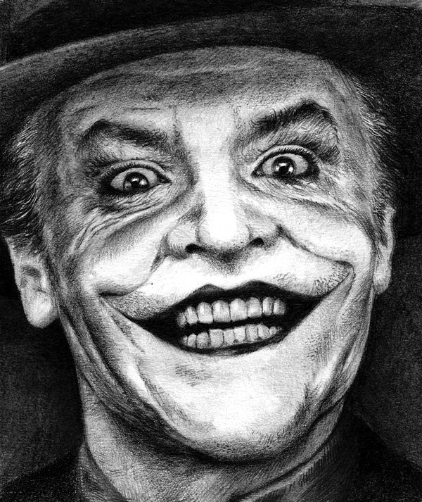 The Joker - Pencil Sketch