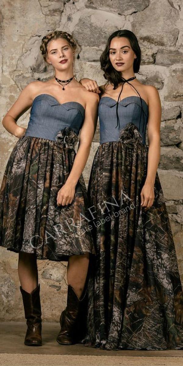 8 Camo Bridesmaid Dresses For Your Girls Camo bridesmaid