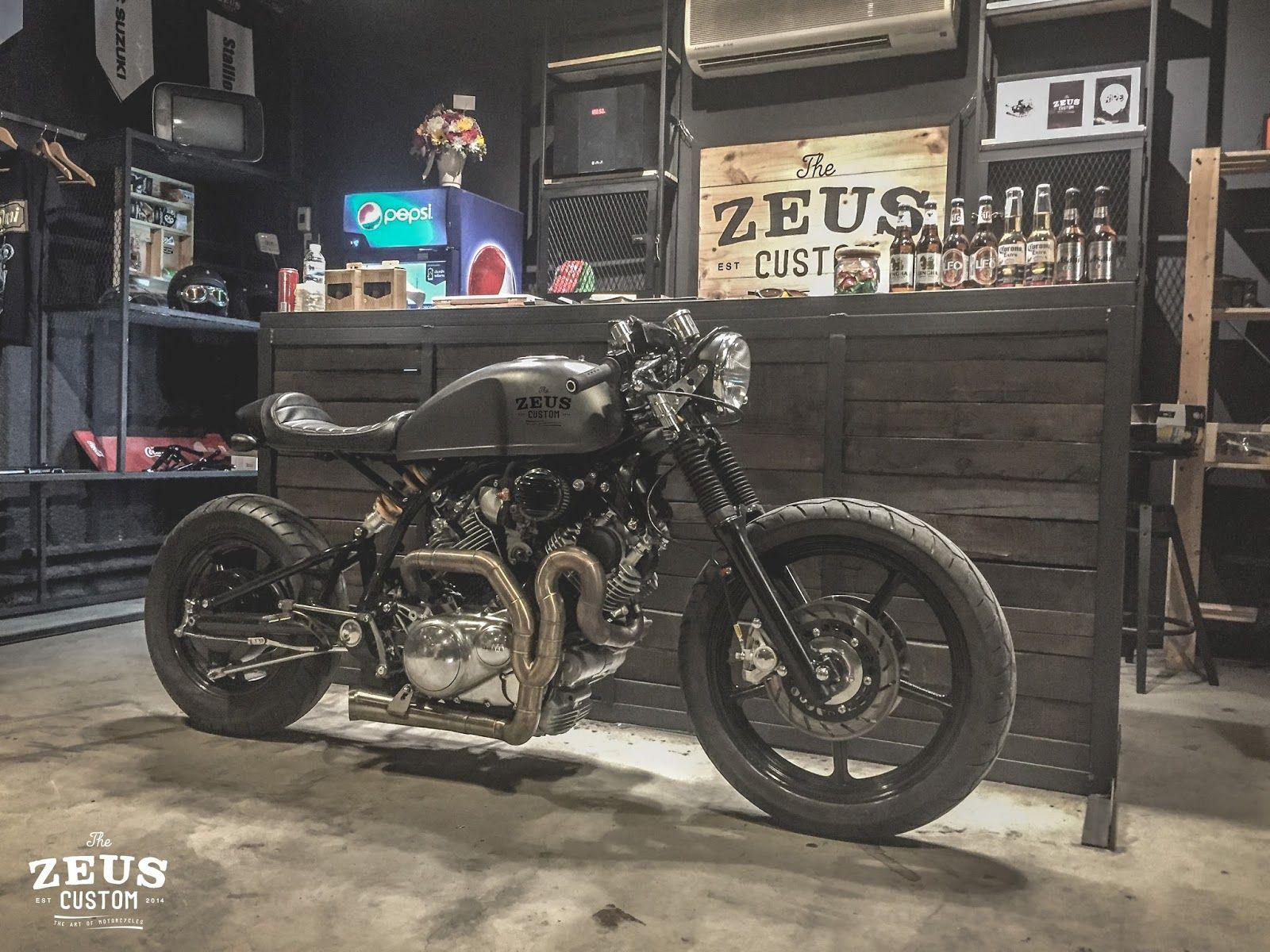 Yamaha Xv1100 By Zeus Custom