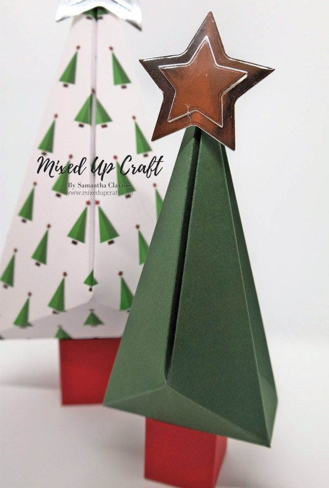 Christmas Tree Shaped Gift Boxes