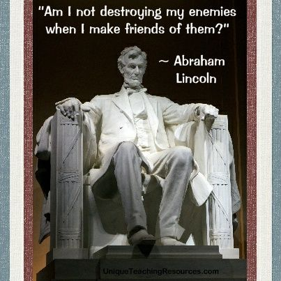 abraham lincoln friendship quotes