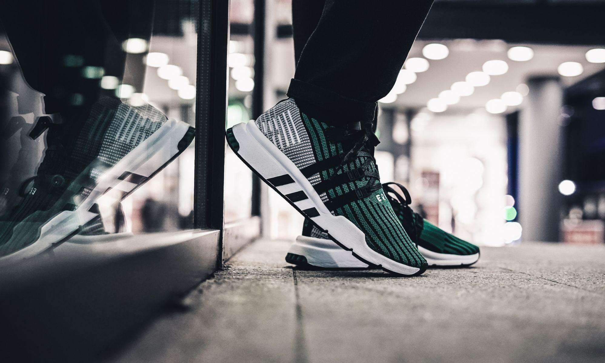 brand new c7e4c 100c9 adidas EQT Support Mid ADV (schwarz  grün) - CQ2998  43einhalb sneaker  store