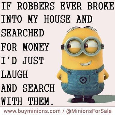 Minion memes and quotes - Looking for money