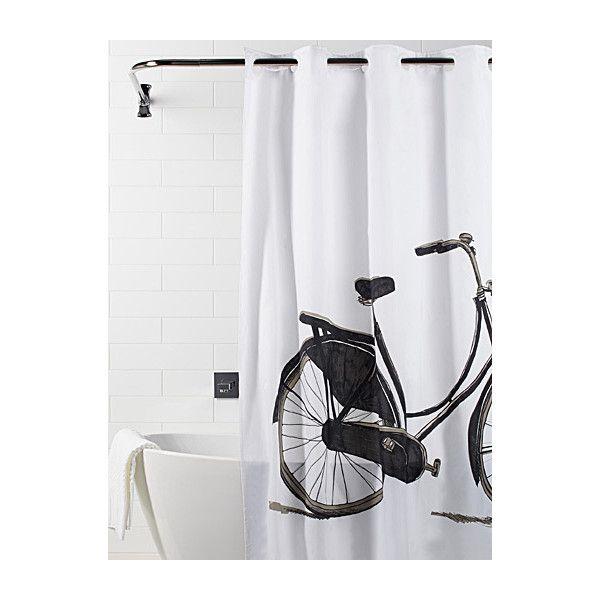 Simons Maison Vintage Bike Shower Curtain 26 Liked On