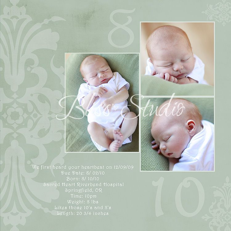 17 Best images about Baby album templates on Pinterest | Baby ...