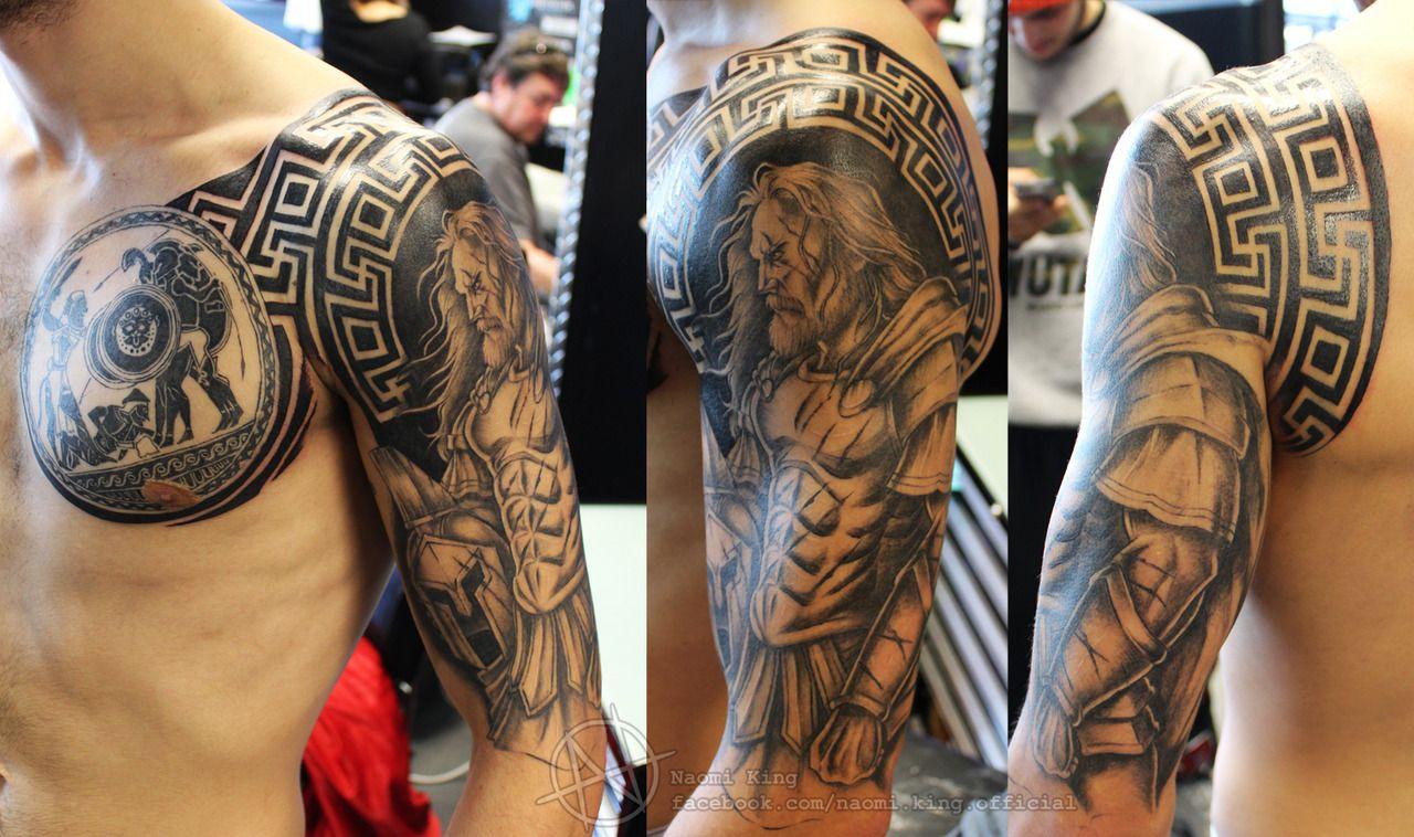 Heracles Hellenic Tattoos Tatouage Tatouages De Mythologie