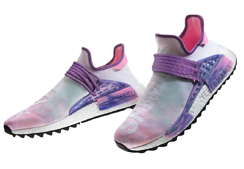 sports shoes 06ad2 c6965 Adidas Pharrell NMD Human Race Pink Glow | Products | Adidas ...