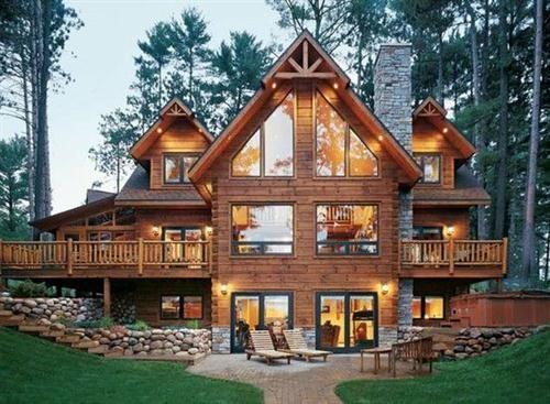 64 Beautiful Log Homes Ideas Cabin Style Homes Log Homes Log