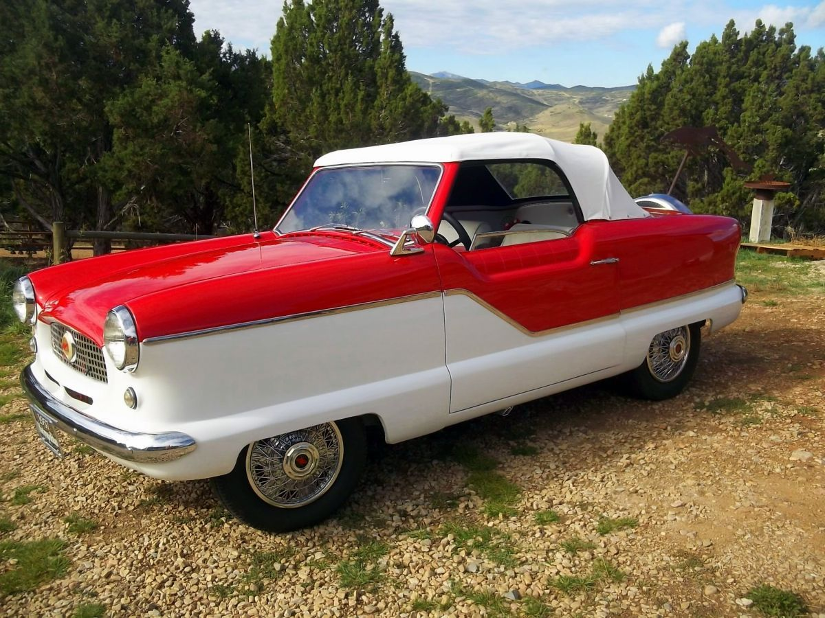 For Sale: 1957 Nash Metropolitan Convertible | HotrodHotline.com ...