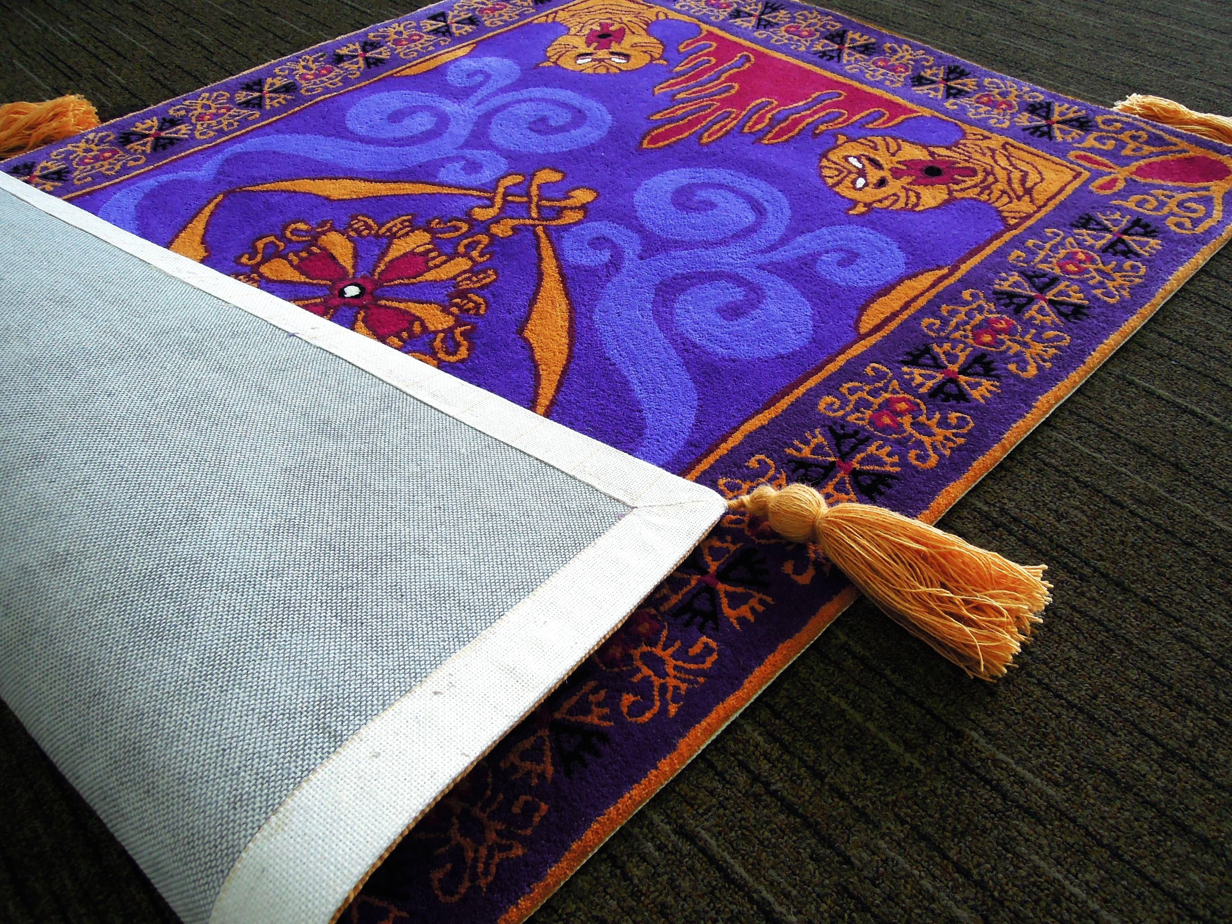 Aladdin's Magic Carpet, Complete with Pics!