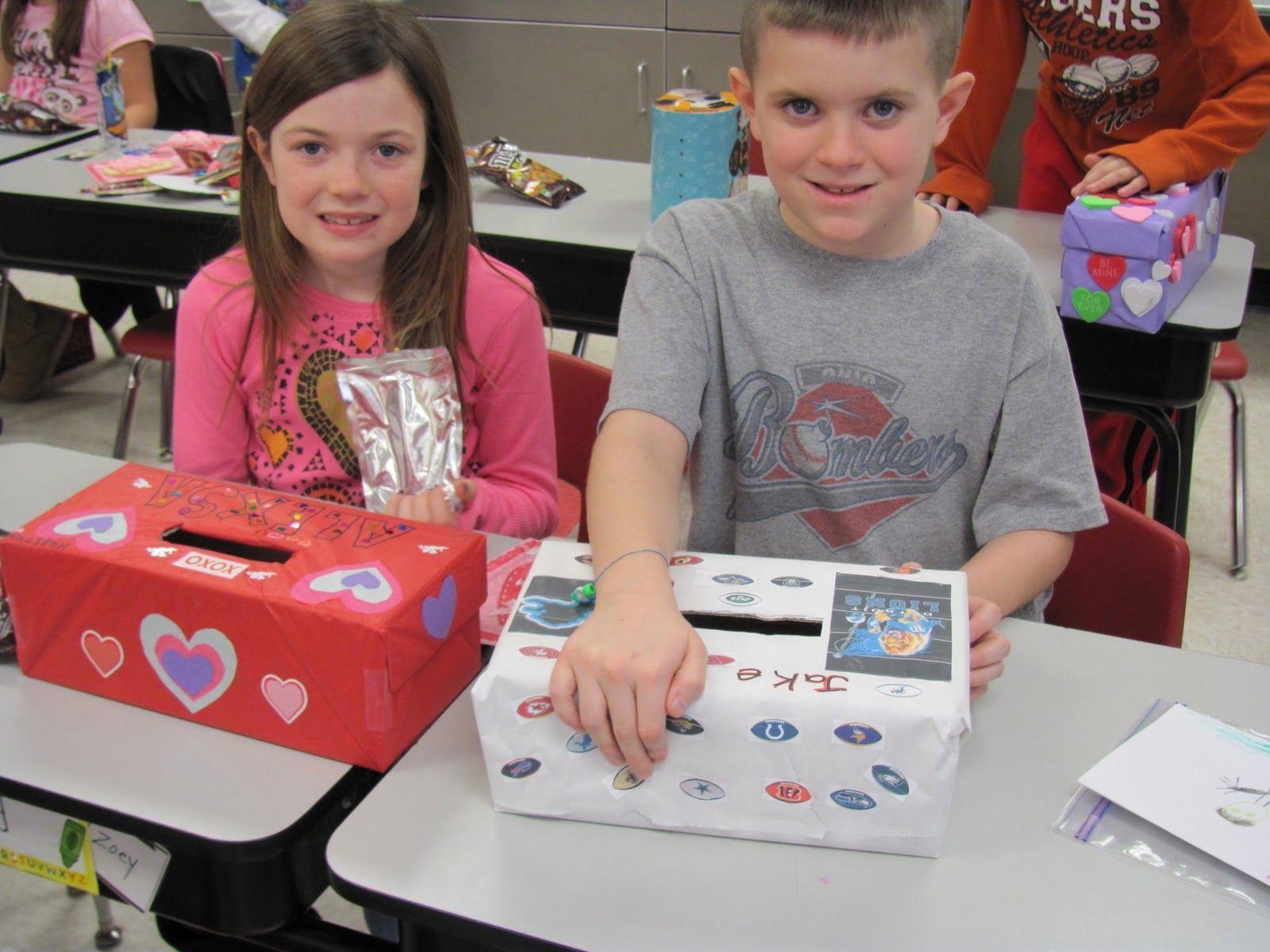 Easy Valentines Day Crafts Second Grade Mrs Lowdens
