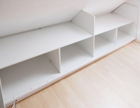 zusammenbau drempelschrank shelfs pinterest attic attic loft and lofts. Black Bedroom Furniture Sets. Home Design Ideas