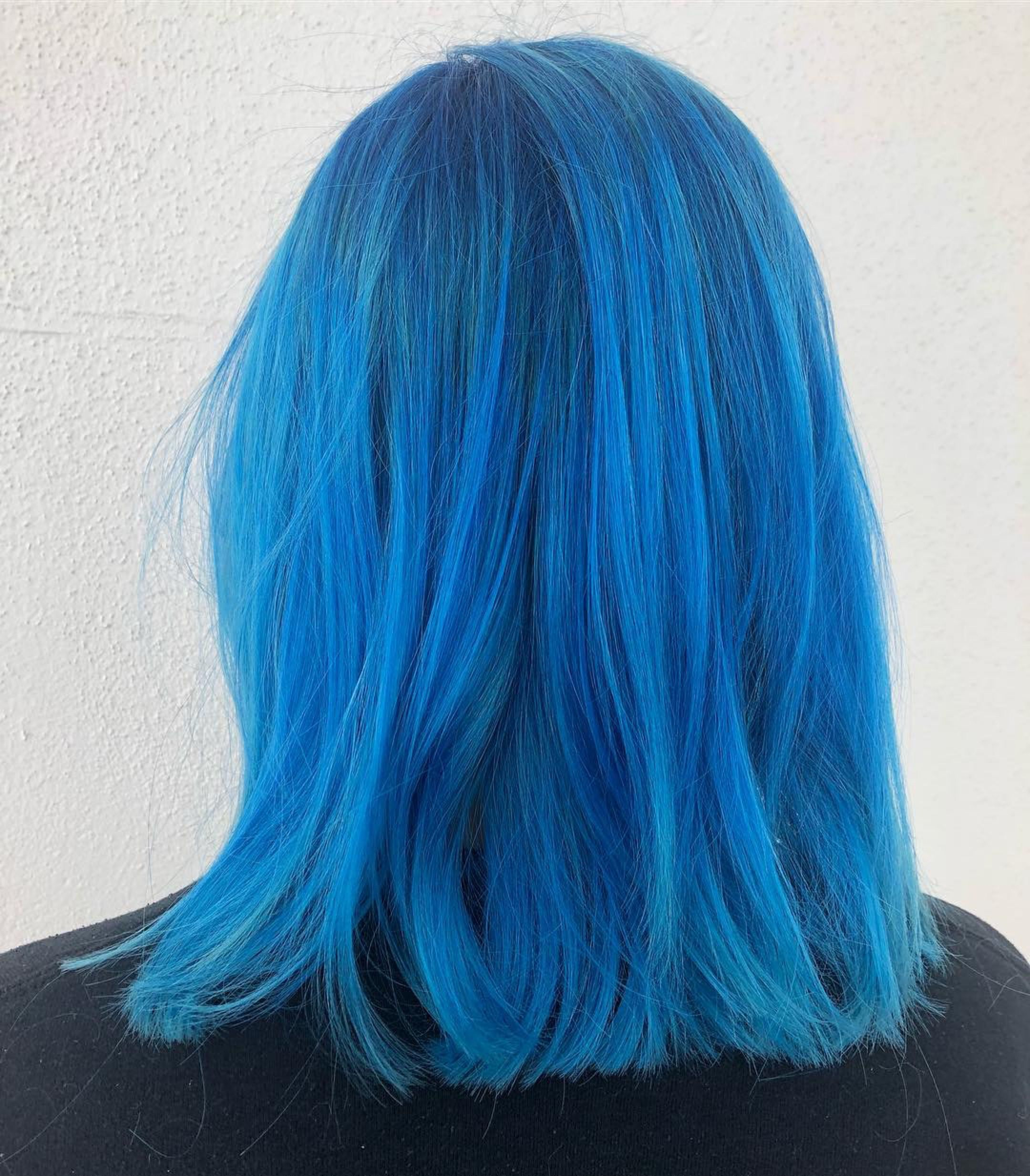 Electric Blue Hair | 2019 Hair Trends