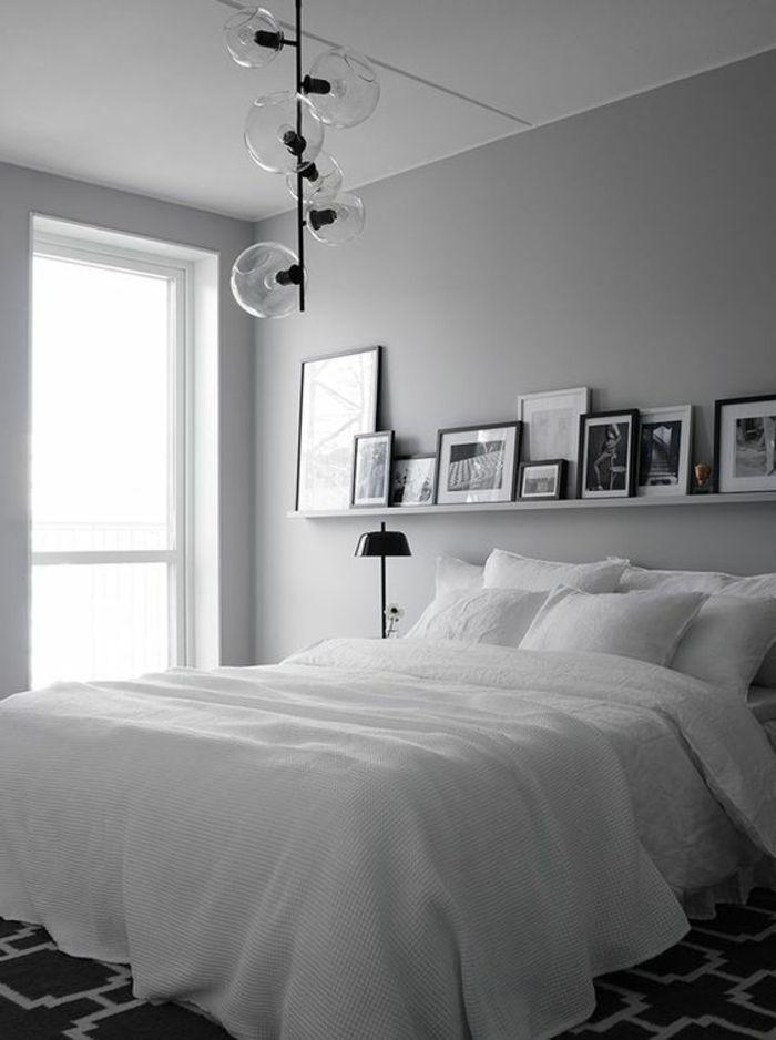 Couleur Gris Perle Pour Chambre. Top Deco Blanc Et Gris Dans Une