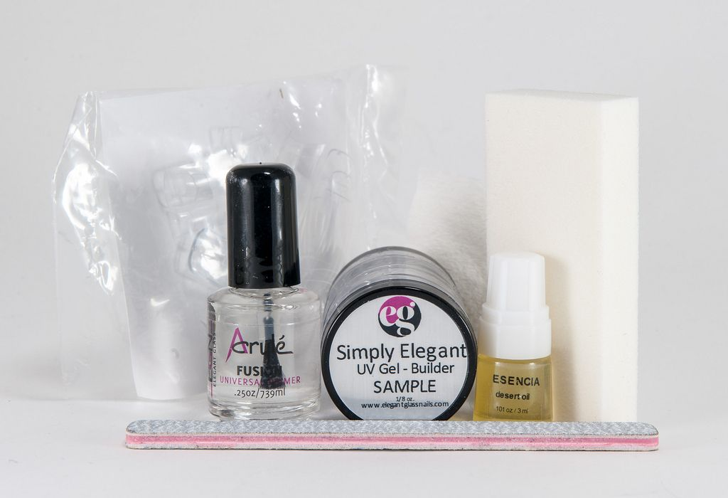 Keep your nails smooth & your cuticles healthy with our UV gel kit http://www.elegant-glass-nails.com/