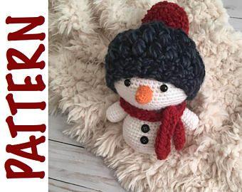 Amigurumi Snowman : Amigurumi snowman free pattern kalulu for