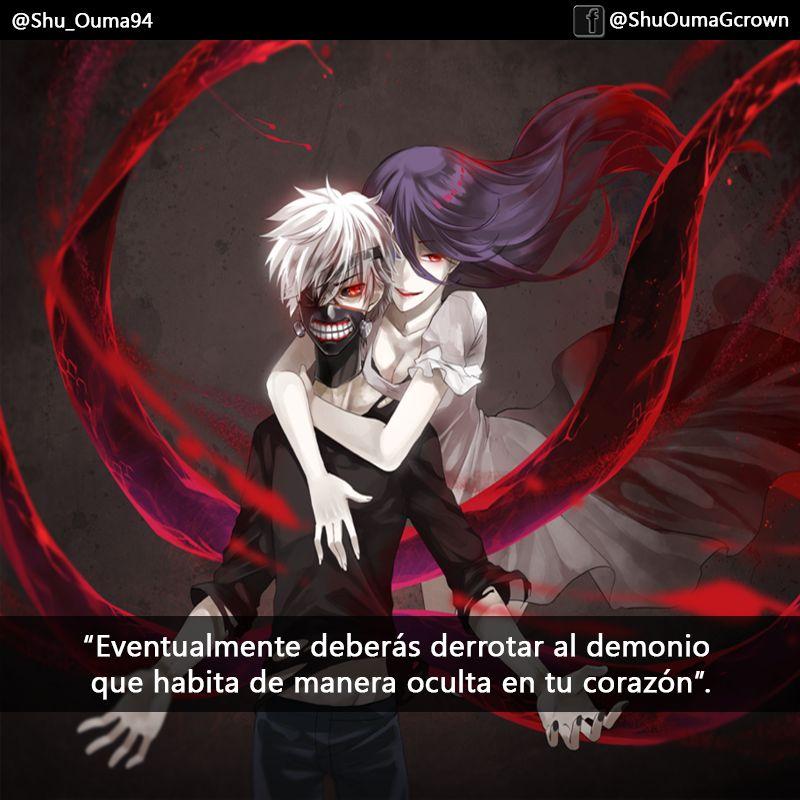 #Tokyo_Ghoul Eventualmente Deberás Derrotar Al Demonio