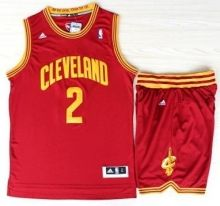 Cleveland Cavaliers 2 Kyrie Irving Red Revolution 30 Swingman Jerseys Shorts NBA Suits
