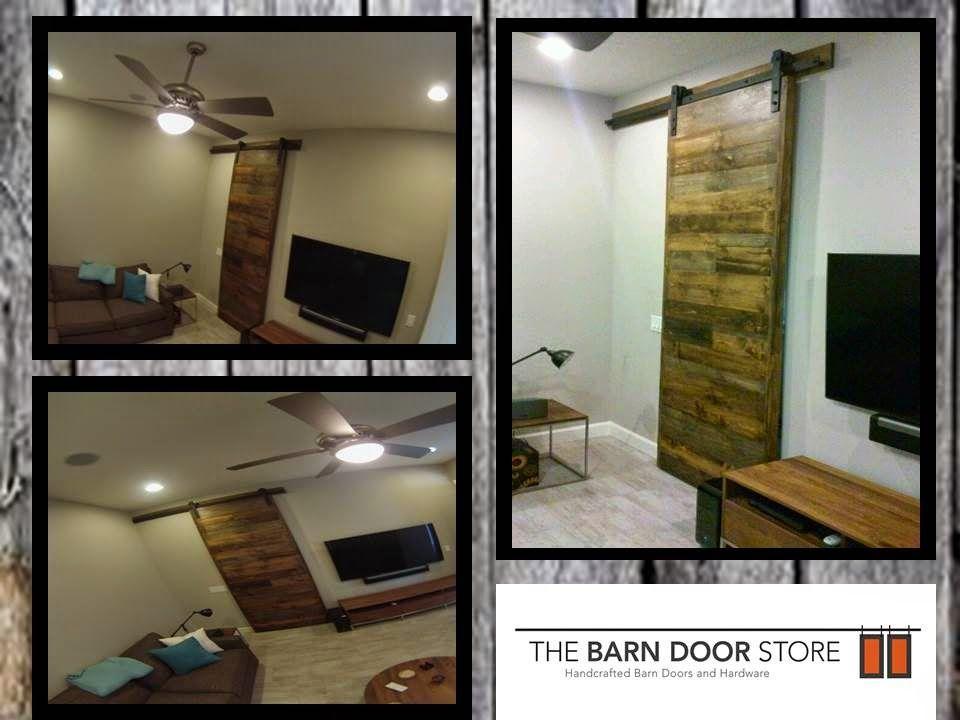 ARIZONA BARN DOORS: Horizontal Planked Blend WOW!