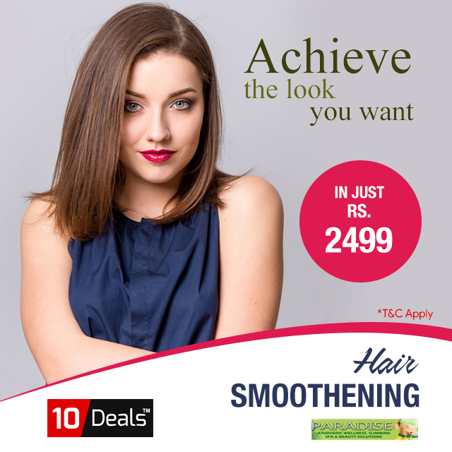Make Your Hair Look Shiny Smooth With Smoothing Offer In