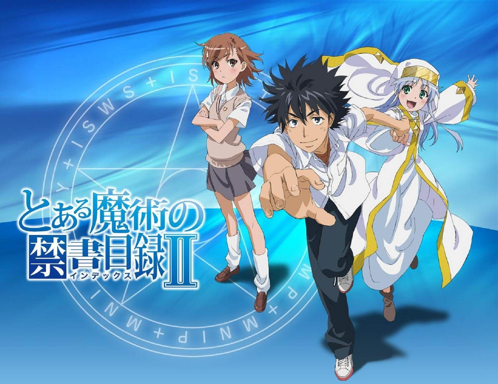 Magical index Anime english dubbed, A certain magical