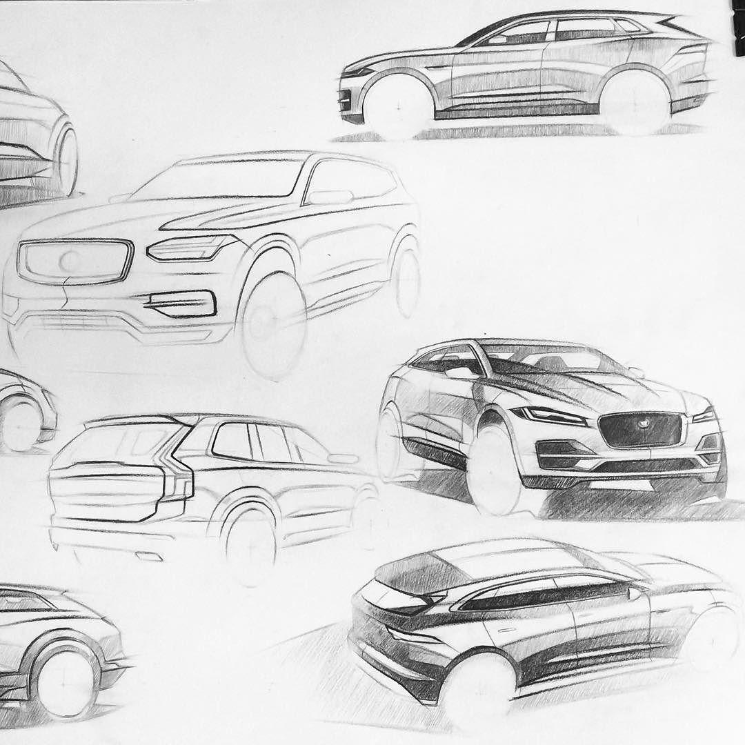 Carartstudio Carart Suv Sketchboard Moodboard Research Car